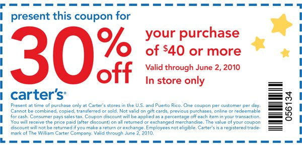 Carters Osh Kosh Coupon Code Canada Eating Out Deals In Glasgow